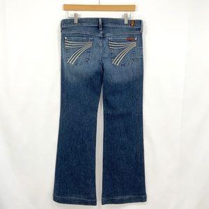 7 For All Mankind Dojo 29 Blue Jeans B16